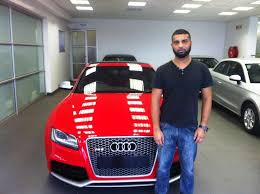 audi westrand congratulations dr nazeer sibda audi centre rand pre owned