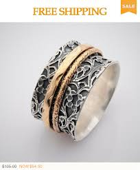 worry ring on sale wide spinner rings for women meditation band worry ring