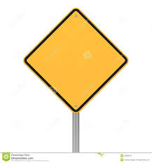 diamond shape road sign in diamond shape royalty free stock photography image