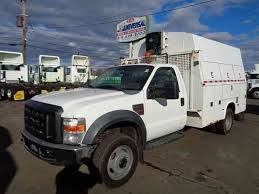 ford f550 utility truck for sale ford f550 service utility truck 6 4l turbo diesel 2008