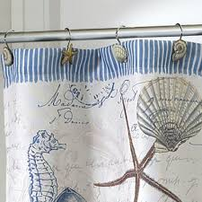 Seahorse Shower Curtain Avanti Antigua Shower Curtain Hooks Set Of 12 Boscov U0027s