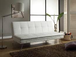 white leather futon sofa white faux leather futon bm furnititure