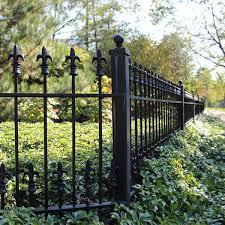 custom residential wrought iron fences peerless fence