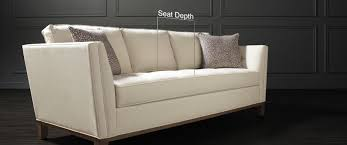 i need a sofa couch depth what to know about choosing couch depths