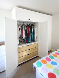 Fitted Bedroom Furniture Drawers Twin Bespoke Fitted Wardrobes With Drawers Enlargement 2