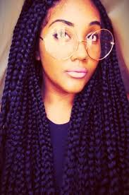 picture of black women box braiding braid hairstyles for black