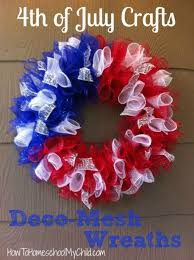 Fourth Of July Door Decorations Best 25 4th Of July Wreaths Ideas On Pinterest 4th Of July