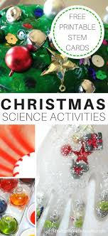 science activities and experiments for
