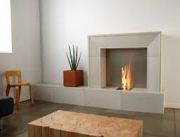 modern wood burning fireplace binhminh decoration