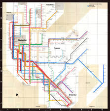 Manhatten Subway Map by Massimo Vignelli Explains His Iconic 1972 New York City Subway Map
