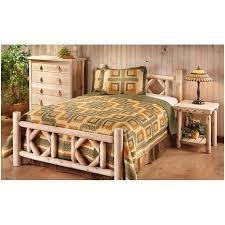 Rustic Log Bedroom Furniture Bedroom Untreated Logs Rustic Cedar Log Bedroom Set Log Cabin