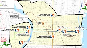 septa map septa expands service for papal visit