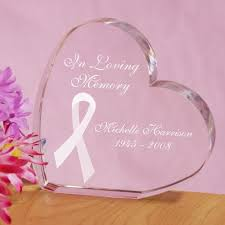 personalized in loving memory gifts engraved in loving memory personalized breast cancer awareness