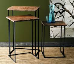 Wood Nesting End Tables Loccie Better Homes Gardens Ideas