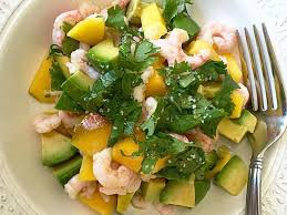 avocat cuisine avocado mango and shrimp salad a soscuisine recipe
