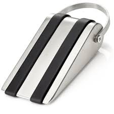 amazon com sleekstopper decorative stainless steel door stopper