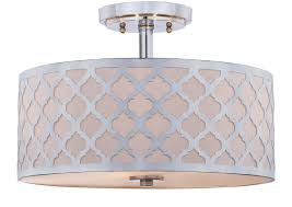 Quatrefoil Ceiling Light Flu4000c Flush Lighting Lighting By Safavieh