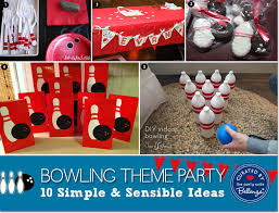 Diy Bowling Favors by 10 Ways To Host A Bowling Birthday With Ideas
