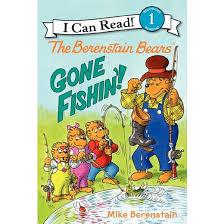 berestein bears the berenstain bears fishin i can read book 1 series