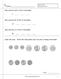 ccss 2 md 8 worksheets counting coins worksheets money