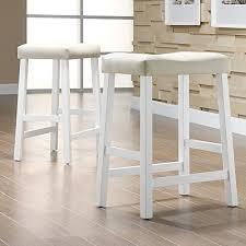 bar stools scottsdale weston home scottsdale saddle counter stool set of 2 boho home