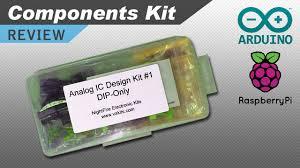analog ic design kit review youtube
