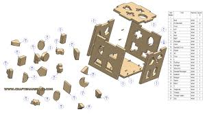 Free Wood Toy Plans Pdf by Shaped Box Toy Plan