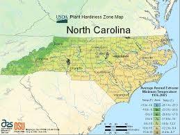North Carolina vegetaion images Usda north carolina planting zone map gif
