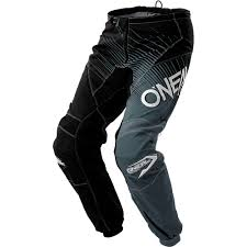 over boot motocross pants new oneal 2018 mx gear element black grey cheap dirt bike