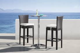 round bar table and stools modern christabel folding bar table 700610