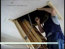 installing attic stairs youtube