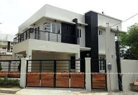 modern 2 story house plans modern 2 storey house design exle modern house designs two story