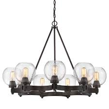 Jefferson 9 Light Chandelier Traditional - golden lighting u0027s galveston 9 light chandelier 4855 9 rbz sd