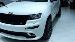jeep srt8 grill 2013 jeep grand srt8 white with gray wheels and black