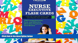 read online nurse executive flash cards complete flash card study