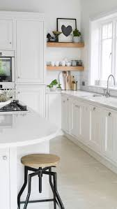 White Kitchen Ideas Uk by Kitchen Design Home Tour