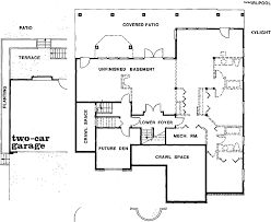 Home Plans For Sloping Lots Contemporary Home Plan For A Sloping Lot 88122sh Architectural