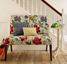 an upholstered bench seat brightens up any hallway we love this