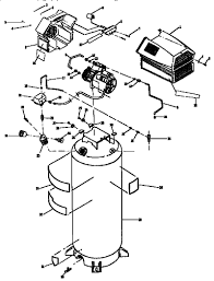 wiring diagram for craftsman air compressor wiring wiring diagrams