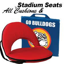 logo stadium seats u0026 cushions bnoticed put a logo on it the