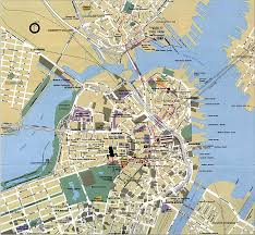 Boston Commons Map by Large Boston Maps For Free Download And Print High Resolution