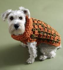 crochet pattern for dog coat free easy crochet dog sweater pattern can be found at www lionbrand