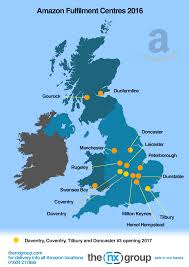 map uk coventry fulfilment centres uk the nx