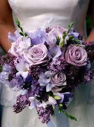 Flower Arrangements Weddings - lilac wedding bouquet on sweet violet bride http