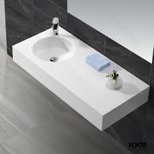 One Piece Bathroom Sinks - acrylic solid surface toilet basin combination buy toilet basin