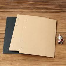 Photo Album Black Pages Aliexpress Com Buy Extra Sheets For Photo Album A4 Diy Scrapbook