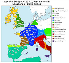 Map Of Western Europe by Location Of Celtic Tribes House Diedne
