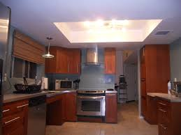 kitchen lighting ceiling cozy kitchen created by led ceiling lighting set with white