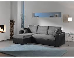 canapé d angle blanc et gris orlando canape d angle convertible