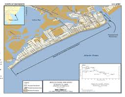 Jersey Shore Map New Jersey Shore Protection Brigantine Inlet To Great Egg Harbor